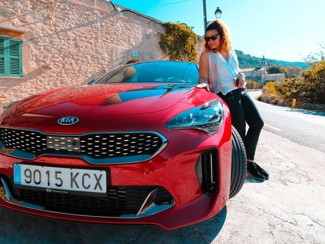 Mit dem KIA Stinger GT und Paul van Dyk auf Mallorca (Autotest)