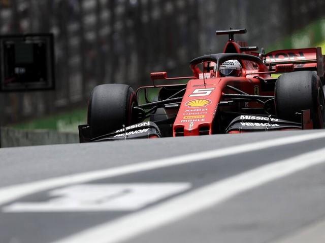 Ferrari-Desaster in Brasilien: Vettel im 100. Ferrari-Rennen raus