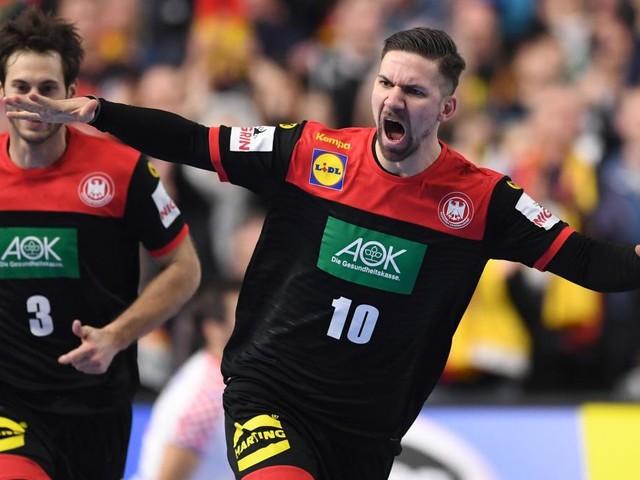 Deutschland zieht ins Halbfinale, aber verliert Spielmacher Strobel