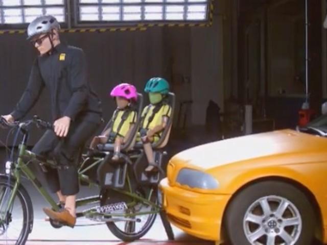ADAC-Test: Lastenrad, Fahrradsitz oder -anhänger: Wo ist die Gefahr für Kinder am höchsten?