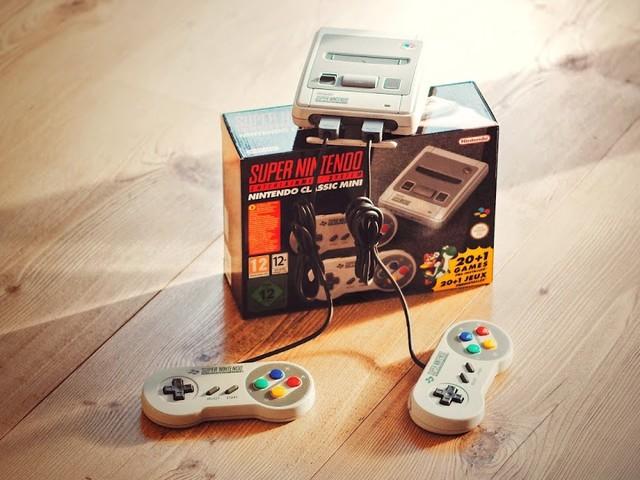Das Super Nintendo Entertainment System - Classic Mini im Atomlabor