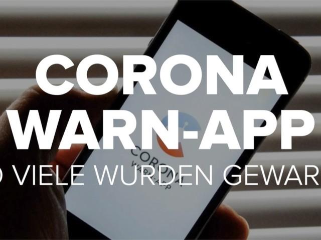 Corona-Warn-App: So viele wurden gewarnt