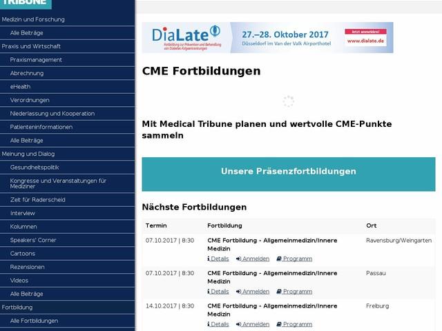 Fortbildung - Medical Tribune