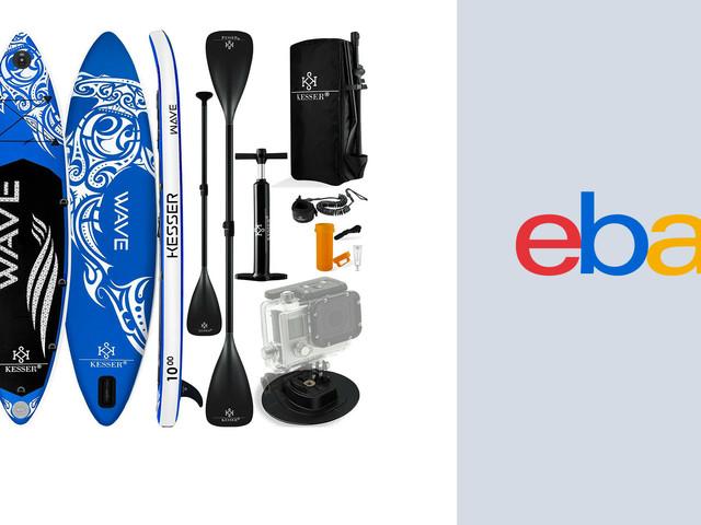 Trendsportgerät zum Sparpreis: Stand-Up-Paddle bei Ebay