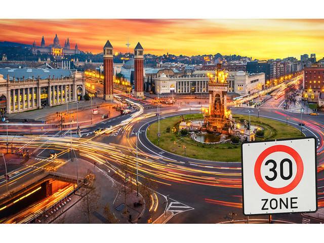 Ab 11. Mai Tempo 30 in spanischen Städten: Teilweise sind sogar nur 20 km/h erlaubt