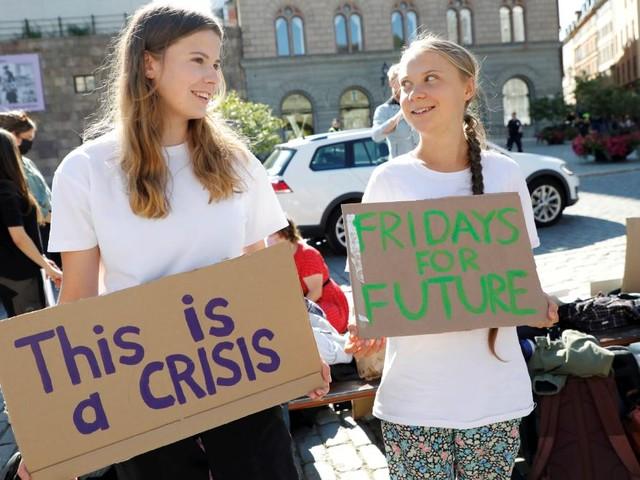 Greta Thunberg kommt zum Klimastreik nach Berlin