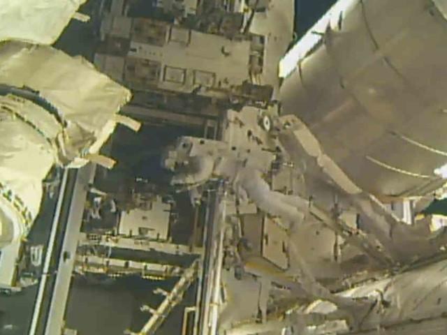 Für US-Flüge ins All: Raumstation ISS bekommt neuen Landungssteg für private Raumschiffe