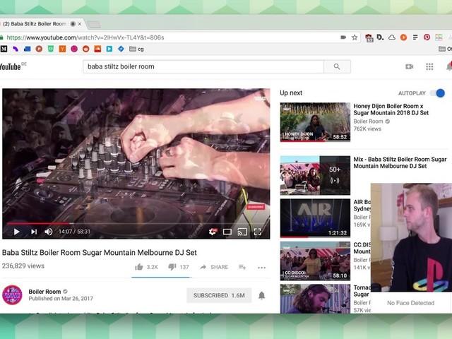 FacePause: YouTube-Videos durch Wegschauen pausieren