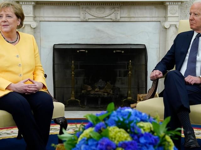 """US-Politik im News-Ticker - Merkel nach Biden-Treffen: """"Schätze die Freundschaft sehr"""""""