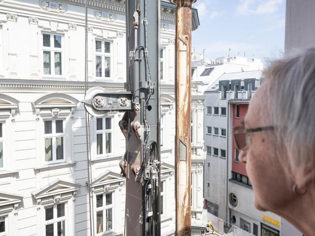 U-Bahnbaustellen: Mein neuer Nachbar, das Bohrpfahlgerät
