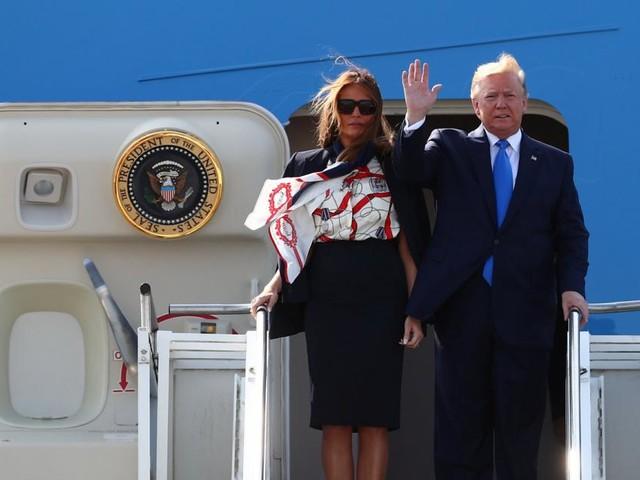Trump leitet Großbritannien-Besuch mit Twitter-Salven ein