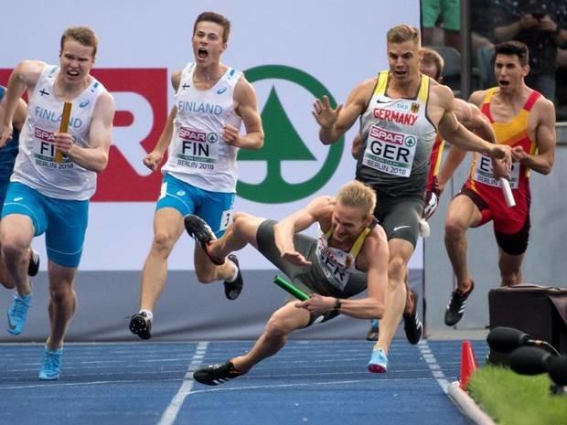 Nach Sturz bei der EM: Sprinter Jakubczyk gibt Comeback beim ISTAF Indoor