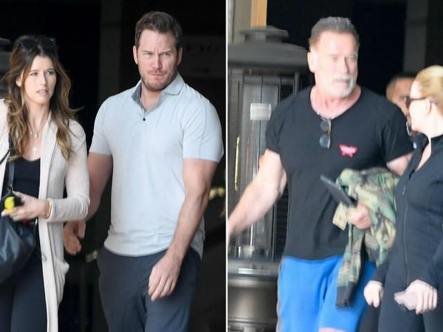 Chris Pratt beim Essen mit Katherine & Arni Schwarzenegger!