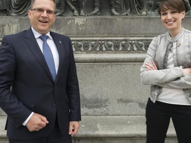 """Maurer und Wöginger: """"Haben es durchaus lustig zwischendurch"""""""