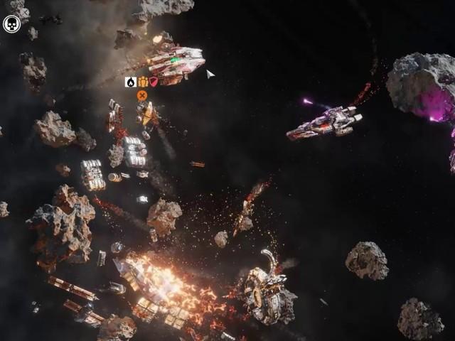 Falling Frontier: Weltraum-Echtzeit-Strategie mit Einzelspieler-Kampagne
