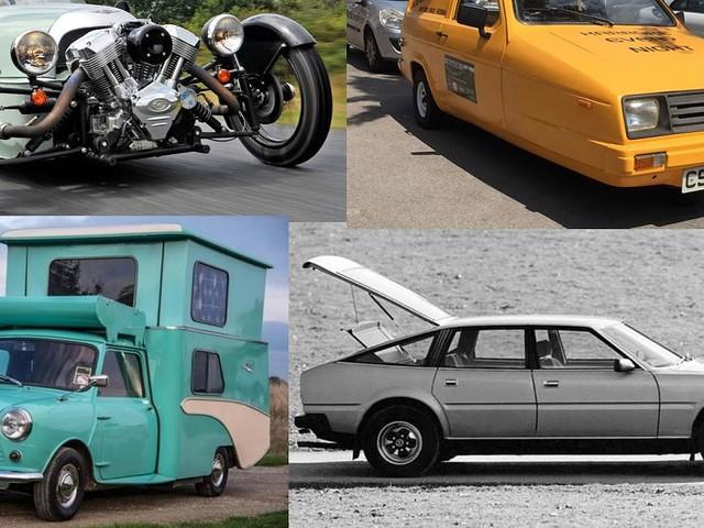 13 unvergessliche Briten-Autos - Blech-Brexit! Wegen mancher Autos hätte man die Briten längst rausschmeißen sollen