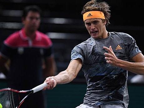 Tennis: Paris: Zverev im Achtelfinale - auch Struff weiter