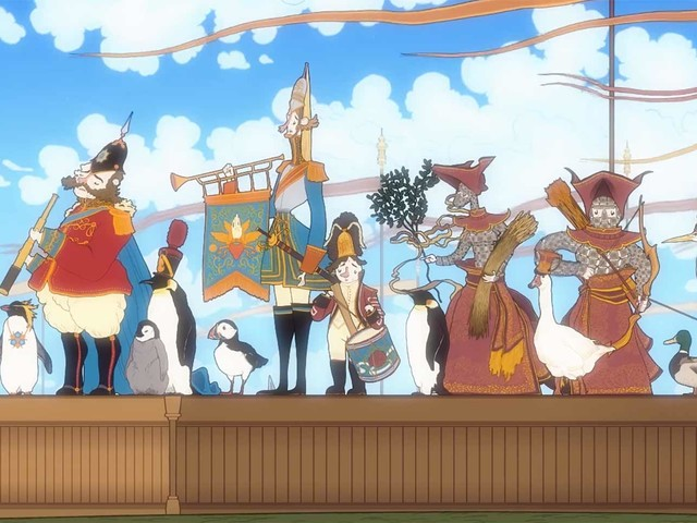 Animierter Kurzfilm: The Follies of M