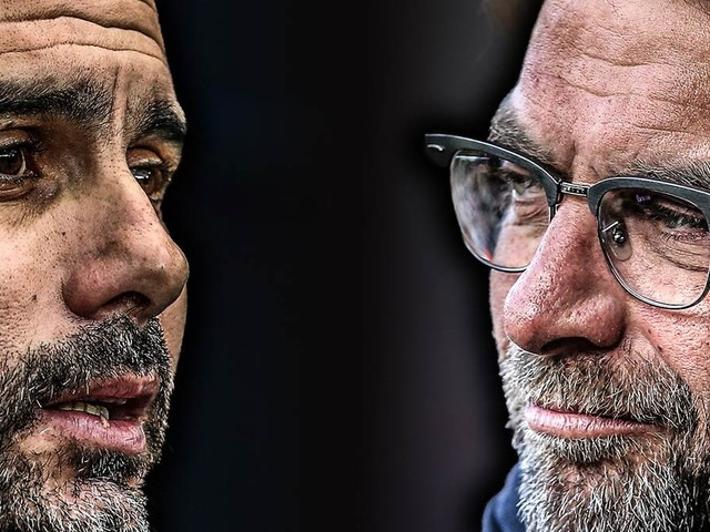 Guardiola gegen Klopp: Die Bilanz der Trainer gegeneinander