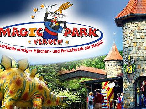 Magic Park Verden mit 2-für-1-Aktion im Juni 2017 für kostenlosen Eintritt im September