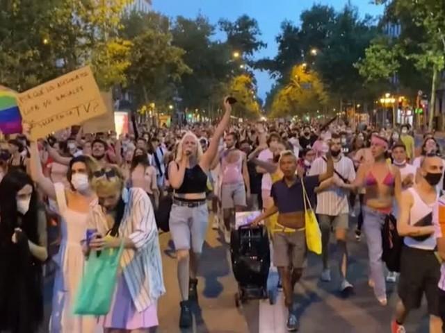 Video: Proteste in Spanien gegen Homophobie