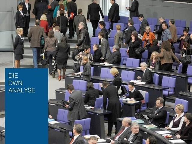 Gewählt um zu bleiben: Keine Partei, die heute im Bundestag sitzt, wird ihn je wieder verlassen