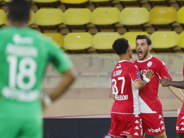Erstes Saisontor: Kevin Volland leitet Monacos Heimsieg über St. Etienne ein