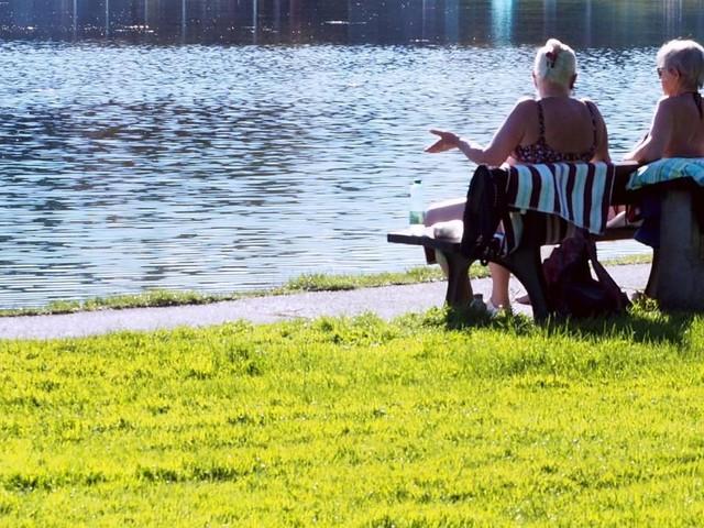 Es bleibt sommerlich und viel zu warm für September