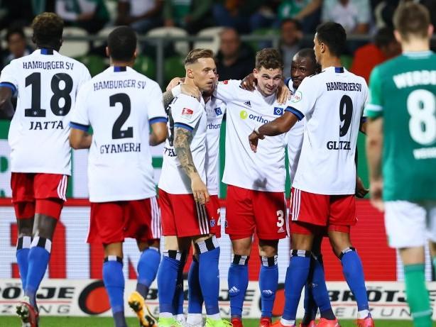 2. Bundesliga: HSV gewinnt umkämpftes Nordderby - Bremen ärgert sich