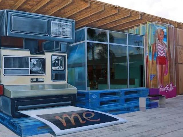 """Picture Perfect"" – Künstler Leon Keer mit grandiosem 3D-Mural in Miami // Florida"