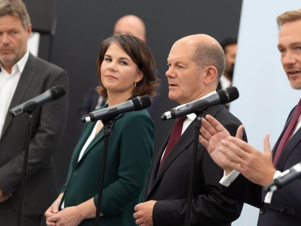 Bundestagswahl-Newsblog: Koalitionsverhandlungen von SPD, Grüne und FDP starten
