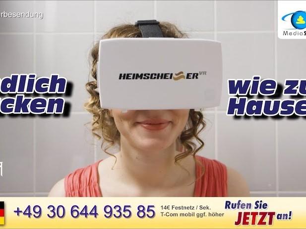 Heimscheißer VR – Endlich kacken wie zu Hause!