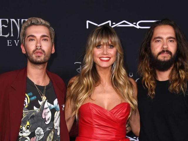 Heidi Klum unterwegs mit Bill und Tom - Fans stellen böse Theorie über ihre Beziehung auf