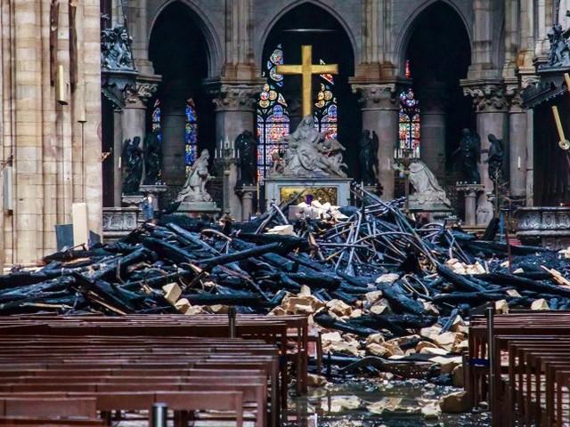 Nach Brand-Katastrophe: Macron kündigt Instandsetzung Notre-Dames binnen fünf Jahren an