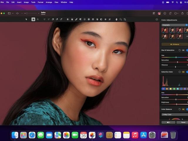 Pixelmator Pro 2.2 ist da: Support für M1 Pro, M1 Max und macOS Monterey