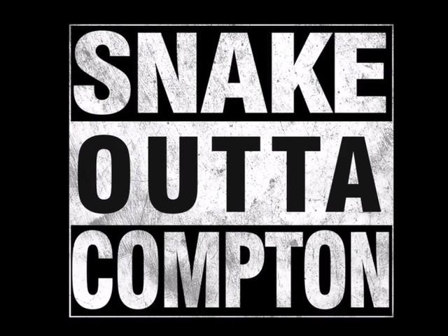 """""""Snake Outta Compton"""" ist wahrscheinlich der albernste Wortwitz, der je verfilmt wurde"""