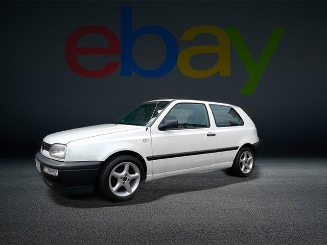 VW Golf 3: original, Scheckheft, Tuning, Felgen Zweitüriger Golf 3 im sammelwürdigen Zustand mit Alufelgen