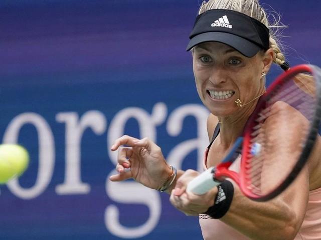 Klarer Sieg gegen Kalinina: Kerber mit einem Tag Verspätung bei den US Open überzeugend weiter