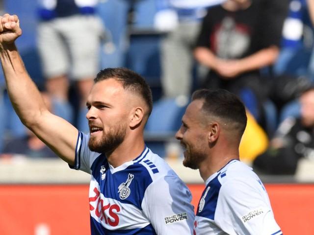 Fußball, 3. Liga: MSV Duisburg bezwingt Eintracht Braunschweig mit 3:2