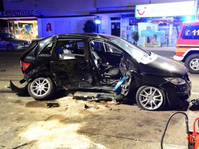 Tödlicher Crash in Geislingen: Frau stirbt bei schwerem Verkehrsunfall