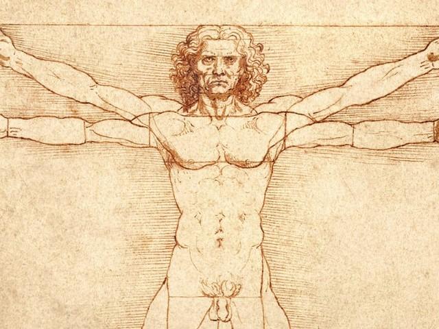 """""""Der vitruvianische Mensch"""": Leonardo-Zeichnung darf doch in den Louvre"""