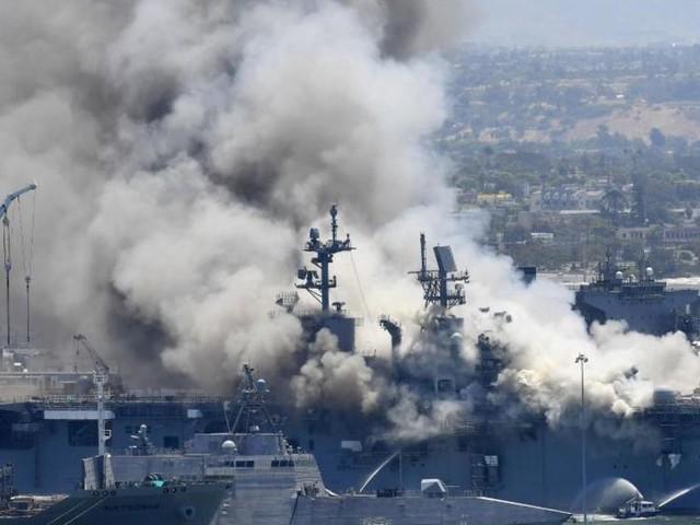 US-Marine geht nach Brand auf Kriegsschiff gegen Soldat vor