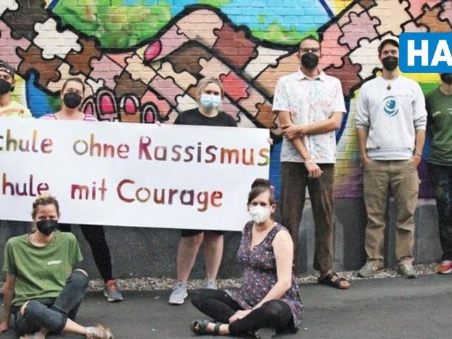 """""""Wir sind eine bunte Schule"""": Hannover-Kolleg setzt Zeichen gegen Rassismus"""