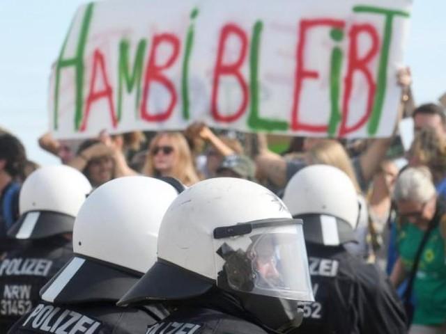 Gericht urteilt: Protestcamp am Hambacher Forst muss geräumt werden