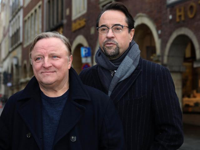 """Rekordvertrag für """"Tatort""""-Duo Axel Prahl und Jan Josef Liefers"""