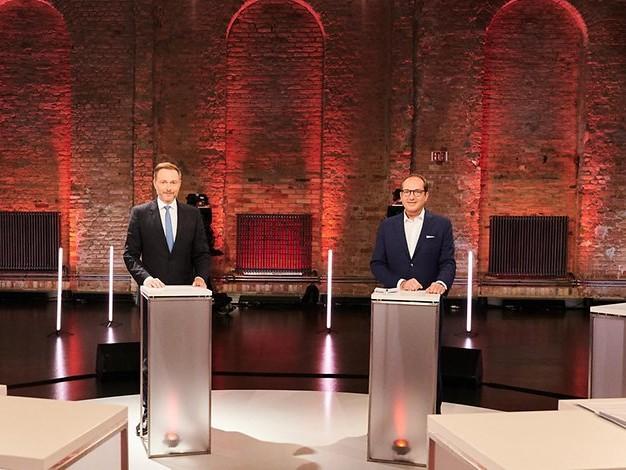 Nach Triell: Kleinere Parteien diskutieren in TV-Vierkampf über künftige Regierung
