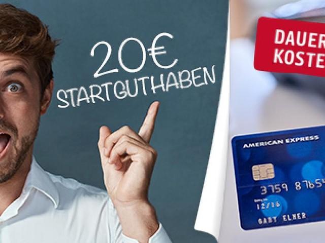 """Kostenlose Kreditkarte beantragen - Mit """"PAYBACK American Express Karte"""" punkten und 20 Euro sichern"""
