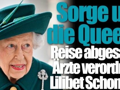 """Sorge um Queen Elizabeth II.: """"Gesundheitliche Bedenken""""! Königin sagt Termine ab"""