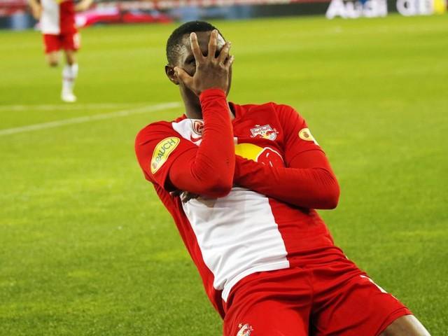 2:0 gegen Rapid: Daka schießt Salzburg zum nächsten Meistertitel