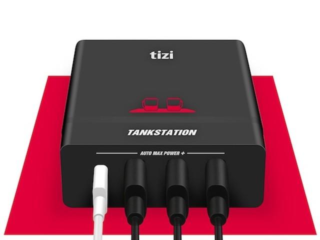 Tizi Tankstation USB-C + 3 USB-A (75W)ist da: ultimatives Ladegerät für iPhone X, MacBook Pro, iPad und Co.